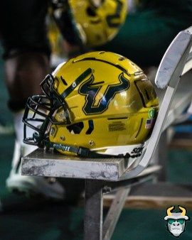 70 - USF vs S.C. State 2019 - USF Helmet by David Gold DRG00819
