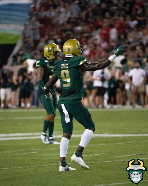 72 – Wisconsin vs USF 2019 – USF DB KJ Sails by David Gold – DRG05795