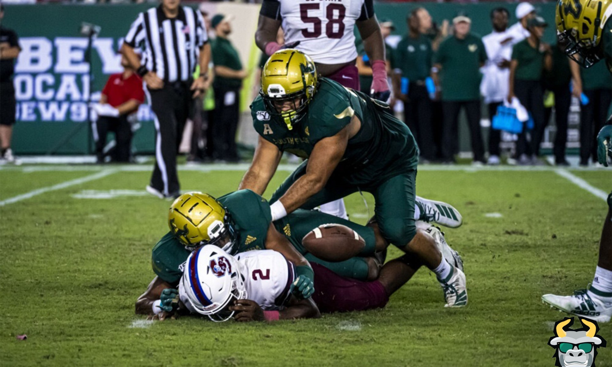 USF Defense Forced Fumble