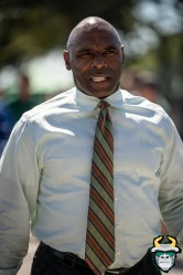 1 - BYU vs. USF 2019 - Charlie Strong by David Gold - DRG09940