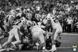 111 - BYU vs USF 2019 - Dwayne Boyles B&W by David Gold - DRG01311