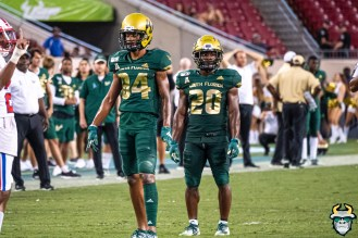 132 - SMU vs USF 2019 - Xavier Weaver Johnny Ford by David Gold - DRG02364