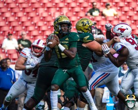 79 - SMU vs USF 2019 - Jordan McCloud by David Gold - DRG01111