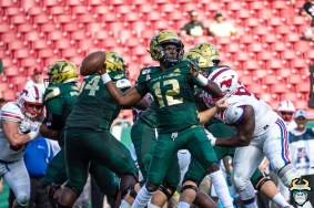 80 - SMU vs USF 2019 - Jordan McCloud by David Gold - DRG01113