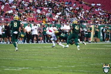 93 - SMU vs USF 2019 - Dwayne Boyles Demaurez Bellamy by David Gold - DRG01516