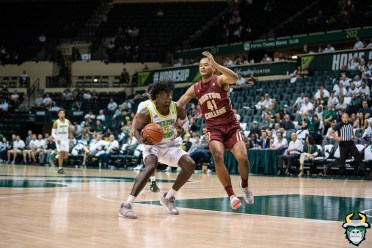 29 - Boston College vs South Florida Men's Basketball 2019 - Rashun Williams by David Gold - DRG08595