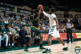 3 - St. Leo vs South Florida Men's Basketball 2019 - Laquincy Rideau by David Gold - DRG02573