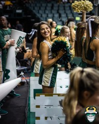 34 - St. Leo vs South Florida Men's Basketball 2019 - Cheerleader Alexis by David Gold - DRG03305