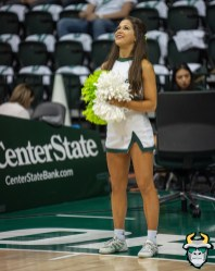 4 - Boston College vs South Florida Men's Basketball 2019 - Co-Ed Cheerleader Alexis by David Gold - DRG07800