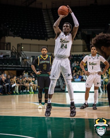 42 - St. Leo vs South Florida Men's Basketball 2019 - Jamir Chaplin by David Gold - DRG03442