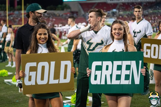 44 - Temple vs. USF 2019 - Co-Ed Cheerleader Alexis Keys by David Gold - DRG05719