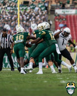 71 - Memphis vs. USF 2019 - Jordan McCloud Kelley Joiner by David Gold - IG DRG04087