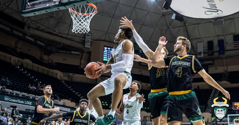 St. Leo vs. South Florida Men's Basketball 2019 Photo Album - G David Collins | SoFloBulls.com