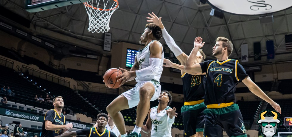 St. Leo vs. South Florida Men's Basketball 2019 Photo Album - G David Collins
