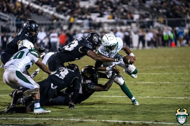 103 - USF vs. UCF 2019 - Jordan McCloud Johnny Ford by David Gold - DRG07171