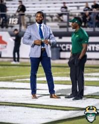 16 - USF vs. UCF 2019 - Sam Barrington Lindsey Lamar by David Gold - DRG05318