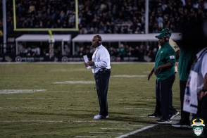 93 - USF vs. UCF 2019 - Charlie Strong by David Gold - ÷DRG06859