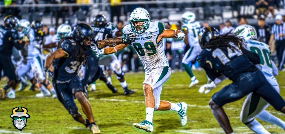 #WarOnI4 USF vs. UCF Football 2019 Photo Album ReCap - TE Mitchell Wilcox - SoFloBulls.com