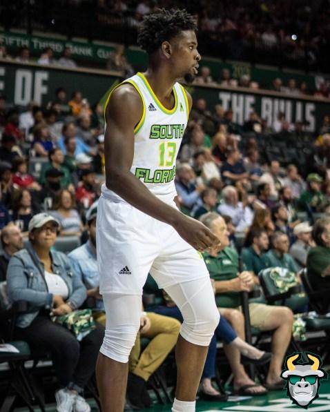 10 - UConn vs. South Florida Men's Basketball 2020 - Justin Brown - DRG08611