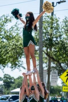 1 - USF Spring Game 2021 Coed Cheerleaders Kylie Keys DRG05692