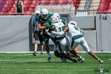 40 - USF Spring Game 2021 Jayden Curry Bryce Miller Christopher Townsel DRG06442