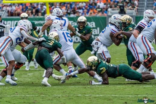 170 Florida vs USF 2021 - Antonio Grier Anthony Richardson Vincent Davis DRG02318
