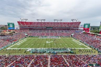 216 Florida vs USF 2021 - Raymond James Stadium Arial Background Image 4 DA