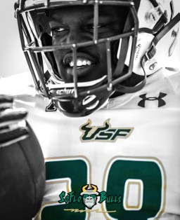28 Days - 23 - USF Spring Game 2018 - USF RB Trevon Sands by Dennis Akers - SoFloBulls.com IG II (1200x1476)