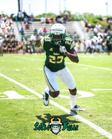 38 - USF Spring Game 2018 - USF DB Mazzi Wilkins by Dennis Akers - SoFloBulls.com (3428x4285)