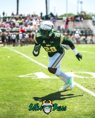 42 - USF Spring Game 2018 - USF DB Donelle Thomas by Dennis Akers - SoFloBulls.com (3966x4957)