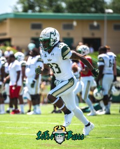 58 - USF Spring Game 2018 - USF WR Jernard Phillips by Dennis Akers - SoFloBulls.com (2894x3617)