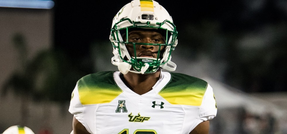 VIDEO: USF WR DeVontres Dukes Sick On-Handed Catch During the 2018 Spring Game | SoFloBulls.com (1924x520)