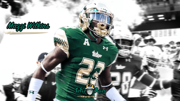 SoFloBulls.com #BayMadeMazzi South Florida DB Mazzi Wilkins Highlights 2017 YouTube Cover Image (1920x1080)