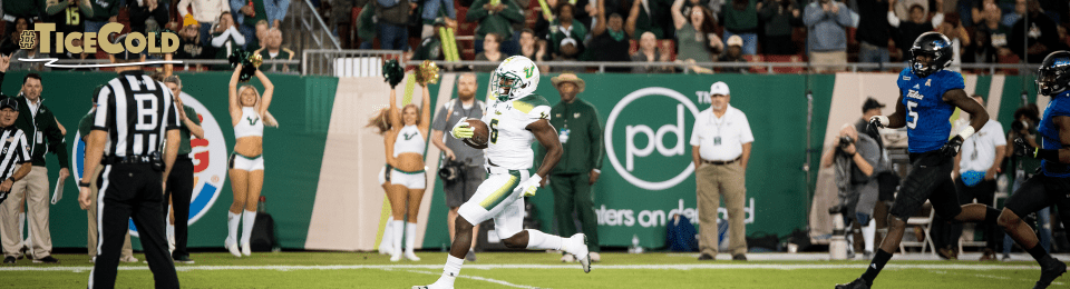 🎥 SoFloBulls.com 2017 USF Football Highlights Series: #TiceCold RB Darius Tice Career Highlights 2016-2017 by Matthew Manuri