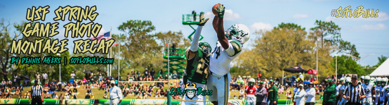 USF Spring Game 2018 Photo Album Montage ReCap by Dennis Akers | SoFloBulls.com (1000x271)