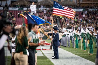 22 - Navy vs. USF 2016 - Military National Anthem Sideline by Dennis Akers | SoFloBulls.com (6016x4016)