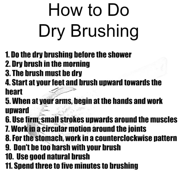 How to Do Dry Brushing