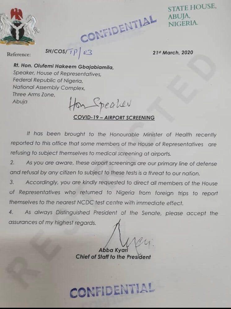 Abba Kyari: Coronavirus sting claim Buhari's ally