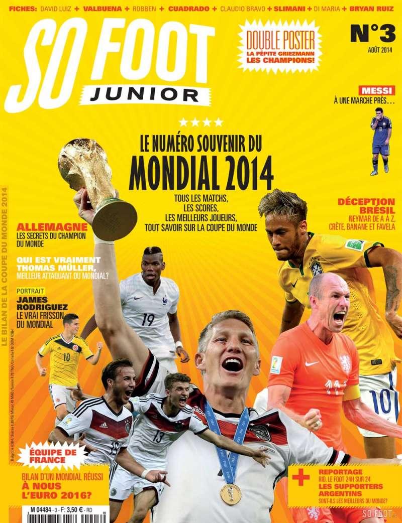 So Foot Coupe Du Monde : coupe, monde, KIOSQUE, JUILLET