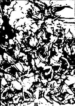 ApokalyptischeReiter_Dürer