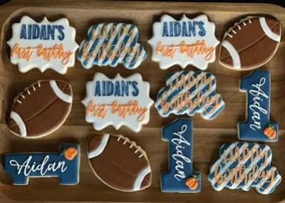 first birthday treats, cookies, Sugar Me Sweets Bakery