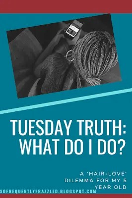 Tuesday Truth:  What Do I Do?