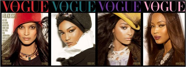 Italian Vogue's Black Edition