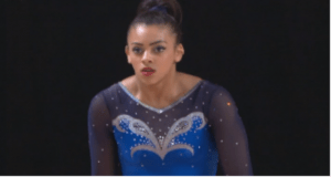 Ellie Downie Euro Bronze Gymnast