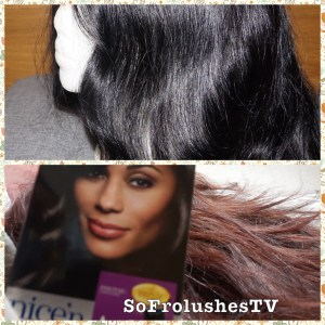 Dyeing Lace Front Black