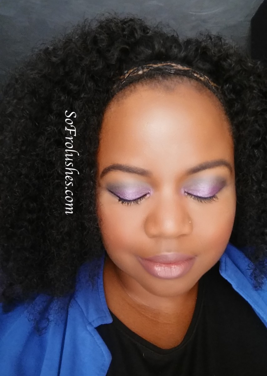 Purple Haze Eyeshadow FOTD