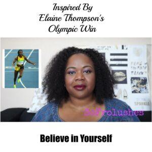 inspired elaine thomspon win self belief