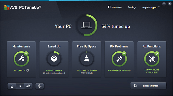 AVG PC Tuneup Key 2021 Free for 1 Year Full Product