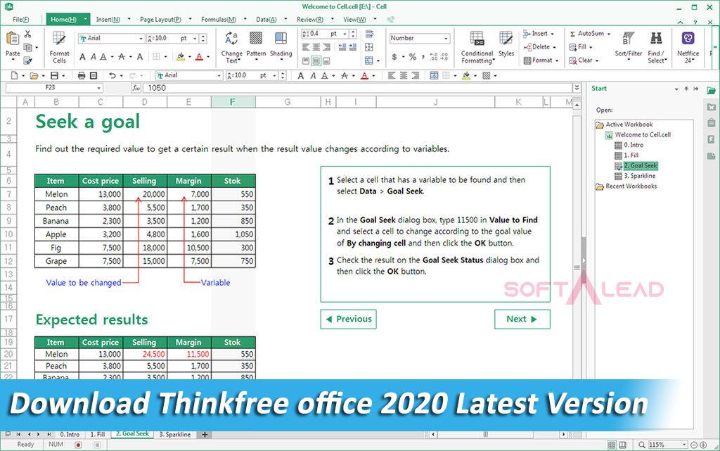 Download Thinkfree office 2020 Latest Version - SoftALead