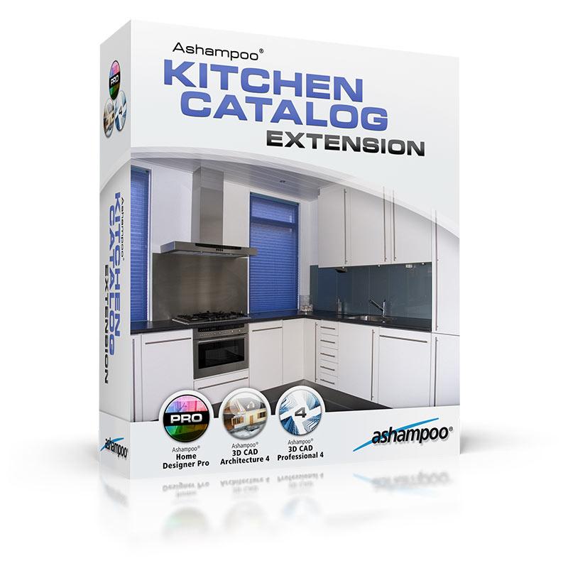 Ashampoo Kitchen Catalog Extension 3D Kitchen Plan Softales Com